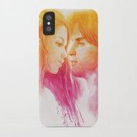 valentine iPhone & iPod Cases featuring Valentine by Aurora Wienhold