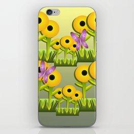 Sunflower Garden iPhone Skin