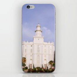 Saint George Utah LDS Temple iPhone Skin