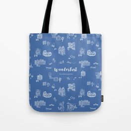 Wanderlust in Europe Tote Bag