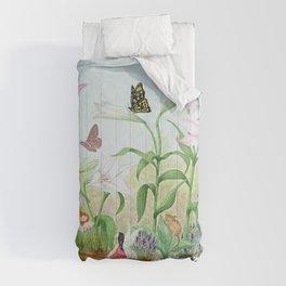 Fairy Garden#1 Comforters