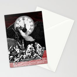 Two Minutes To Midnight Stationery Cards