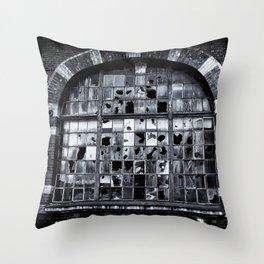 Disrepair Throw Pillow