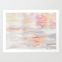 Coral Drift Art Print
