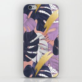 monstera mood iPhone Skin