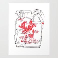 Takeout II Art Print