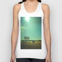 fireworks Tank Tops featuring Fireworks! by Teran Jones