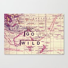go wild Canvas Print
