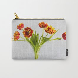 Crazy Tulips in a Vase Carry-All Pouch