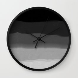 Hierarchy - Abstract Painting Wall Clock