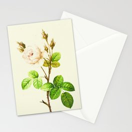 Vintage flowers watercolor painting #9 Stationery Cards
