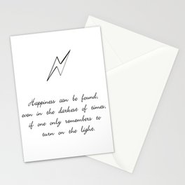 you can find happiness Stationery Cards