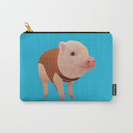 Pumpernickel the Minipig polygon art Carry-All Pouch