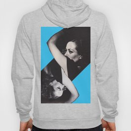 Joan Crawford - Double personality Diva - Collage Artwork Woman Hoody