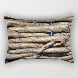 woven basket texture 2 Rectangular Pillow