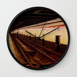 Underground. Wall Clock
