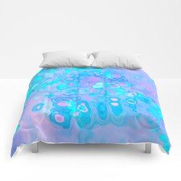 Pastel Amoeba 2 Comforters