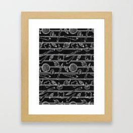 Veggie Grill Framed Art Print