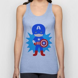 Superhero Unisex Tank Top