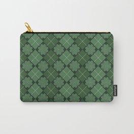 Irish pattern, Irish gift, ireland, shamrock, irish gifts women, st patricks day, luck of the irish Carry-All Pouch