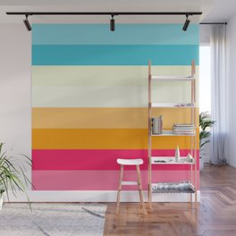Color Palette Lines 4 Wall Mural