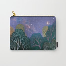 Starlit Woods Carry-All Pouch