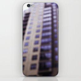 Losing Focus in Downtown Seattle iPhone Skin