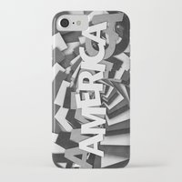america iPhone & iPod Cases featuring America by politics