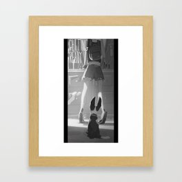Getting Ready Framed Art Print