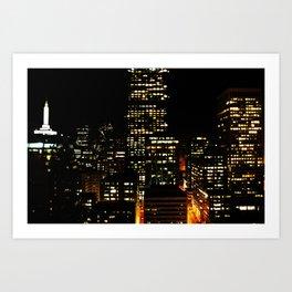 suite view Art Print