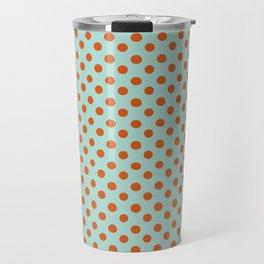 Polka Dot Frenzy Travel Mug