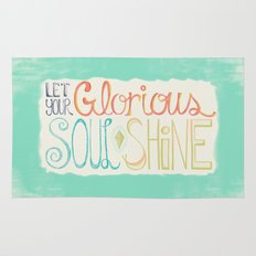 Let Your Glorious Soul Shine Rug