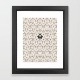 Black Sheep Framed Art Print