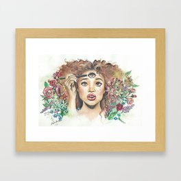 nourished  Framed Art Print