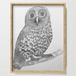 Little Morepork Owl Serving Tray