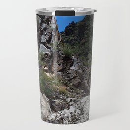 Steps From the Window Hike in Big Bend Travel Mug