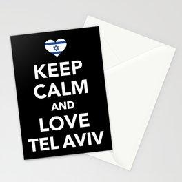 Keep calm and love Tel Aviv Stationery Cards