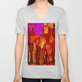 Cavern Colors Unisex V-Neck