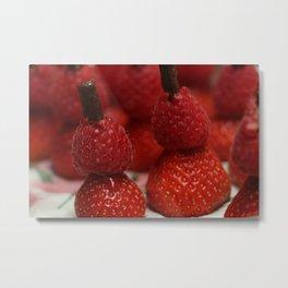 Berry Men Metal Print