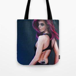 Gun Girl Tote Bag