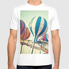 Sounds of Summer  Mens Fitted Tee MEDIUM White