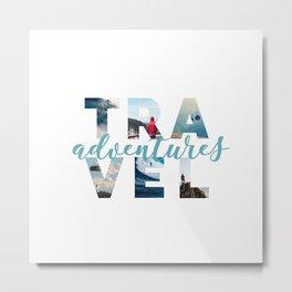 Travel adventures Metal Print