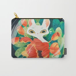 Bubble Cat Carry-All Pouch