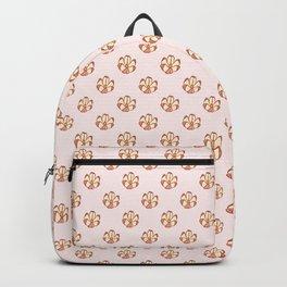 Flower Shaped Nut Pattern Backpack