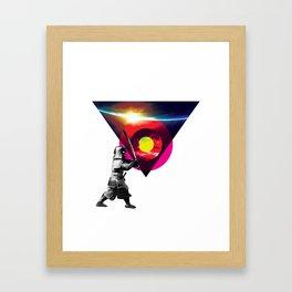 Saburau Framed Art Print