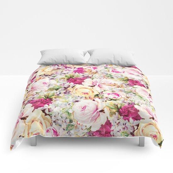 carpet of roses Comforters