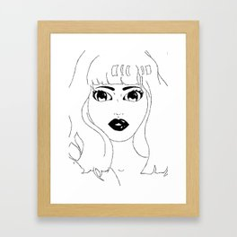 Kissable Framed Art Print
