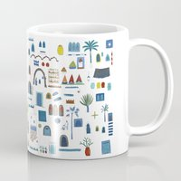 morocco Mugs featuring Morocco Sketch by Nic Squirrell