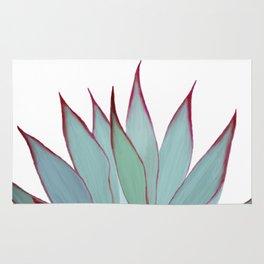 Elegant Agave Fringe Illustration Rug