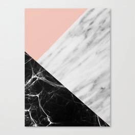 Marble Collage Canvas Print
